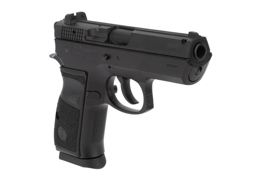 Tristar T100 9mm compact pistol features a 3.9 inch barrel