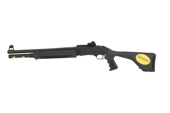 Mossberg 930 SPX Shotgun features an extended magazine tube