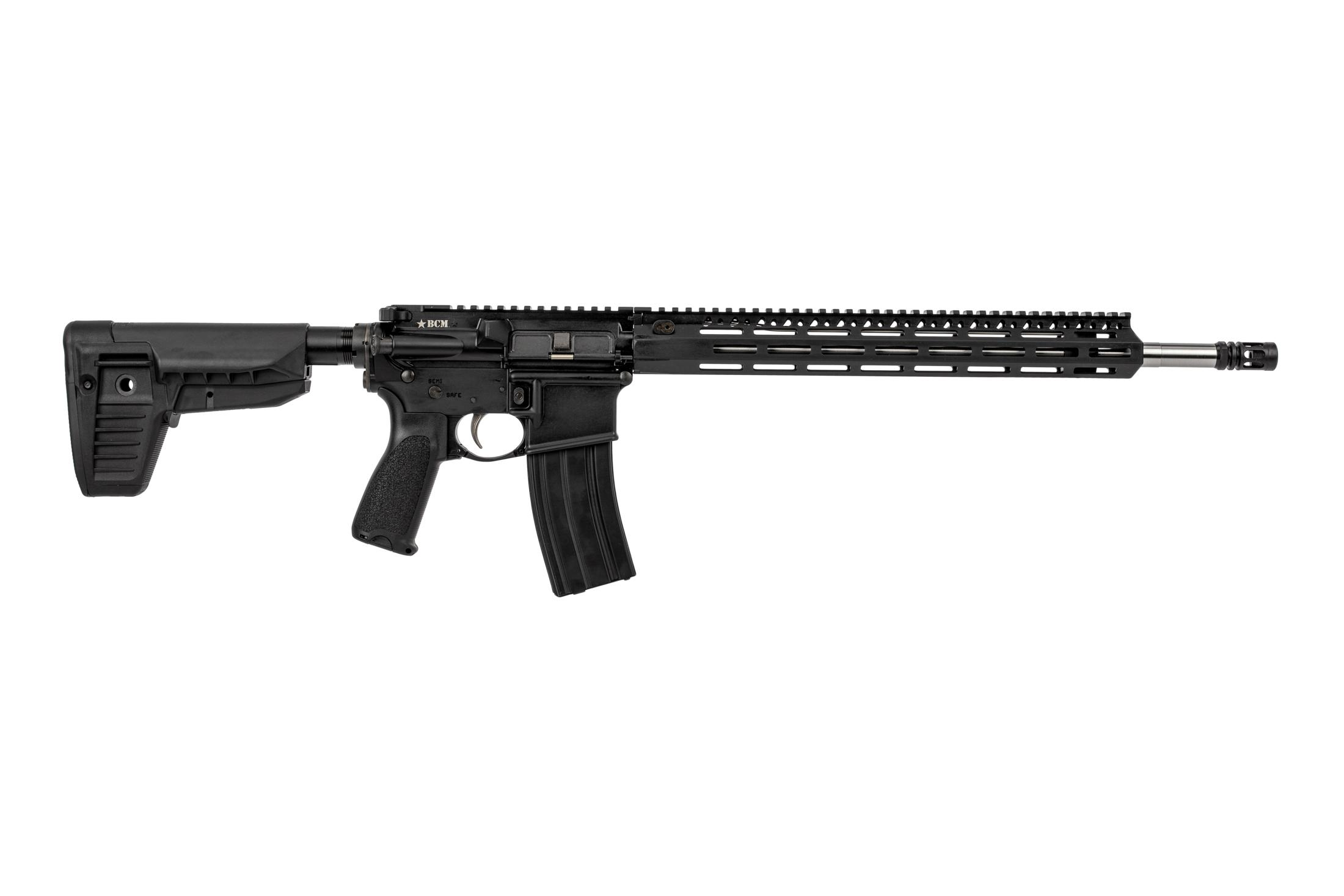 Bravo Company RECCE-18 MCMR Precision Rifle features an 18 inch 410 stainless steel barrel
