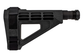 SB Tactical TAC14-SBM4 20 gauge pistol arm brace is made from durable polymer and rubber