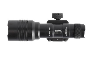 The Streamlight ProTac Rail Mount 1 weapon light outputs 350 Lumens of light
