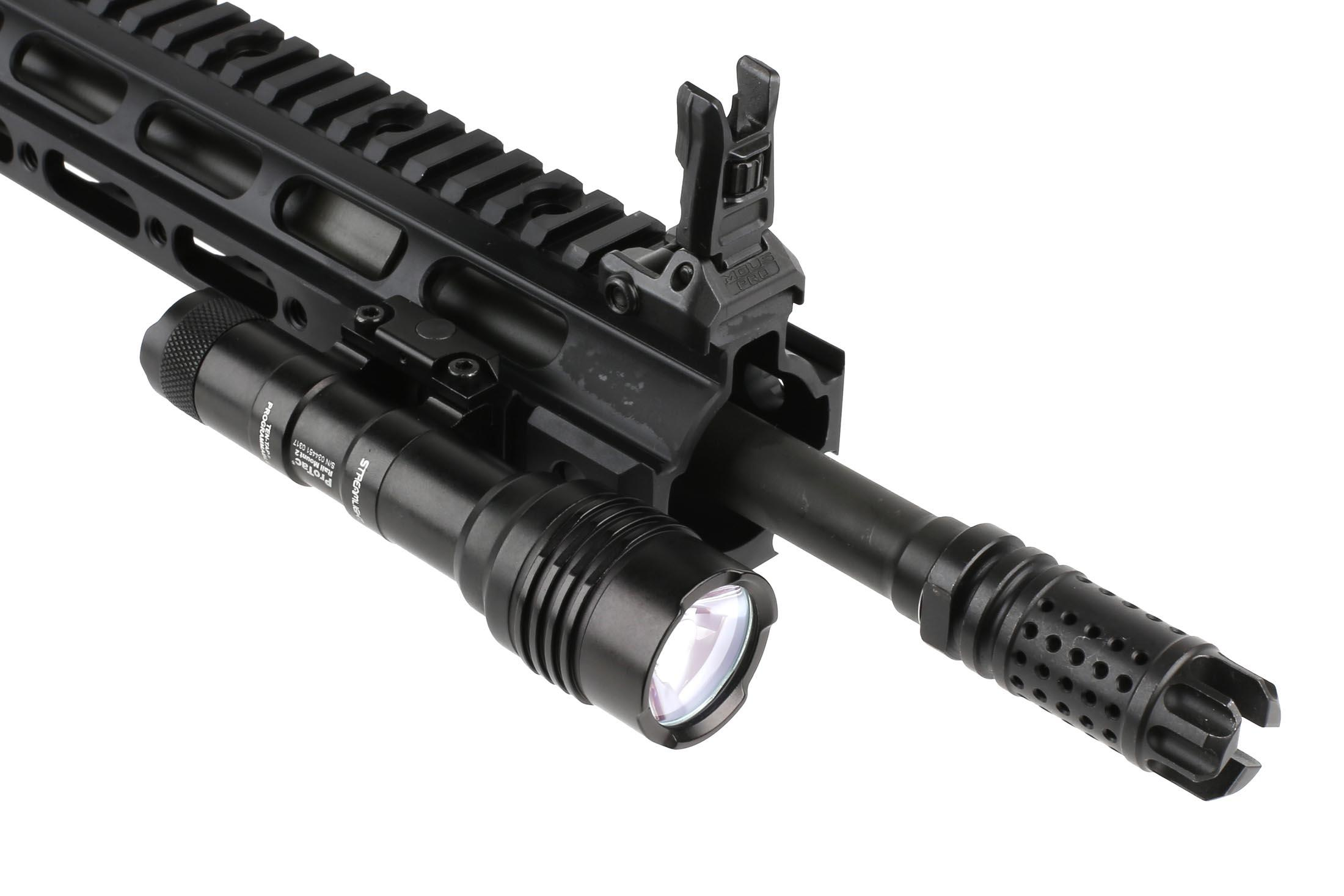 The Streamlight ProTac Rail Mount 2 weapon light comes with a tapeswitch