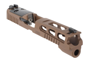 SIG Sauer P320 Full Size Pro Cut Slide features a Coyote Tan finish