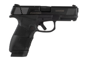Mossberg MC2c 9mm pistol features a compact polymer frame