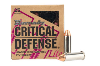 Hornady Critical Defense Lite 38 Special 90 gr Box of 25