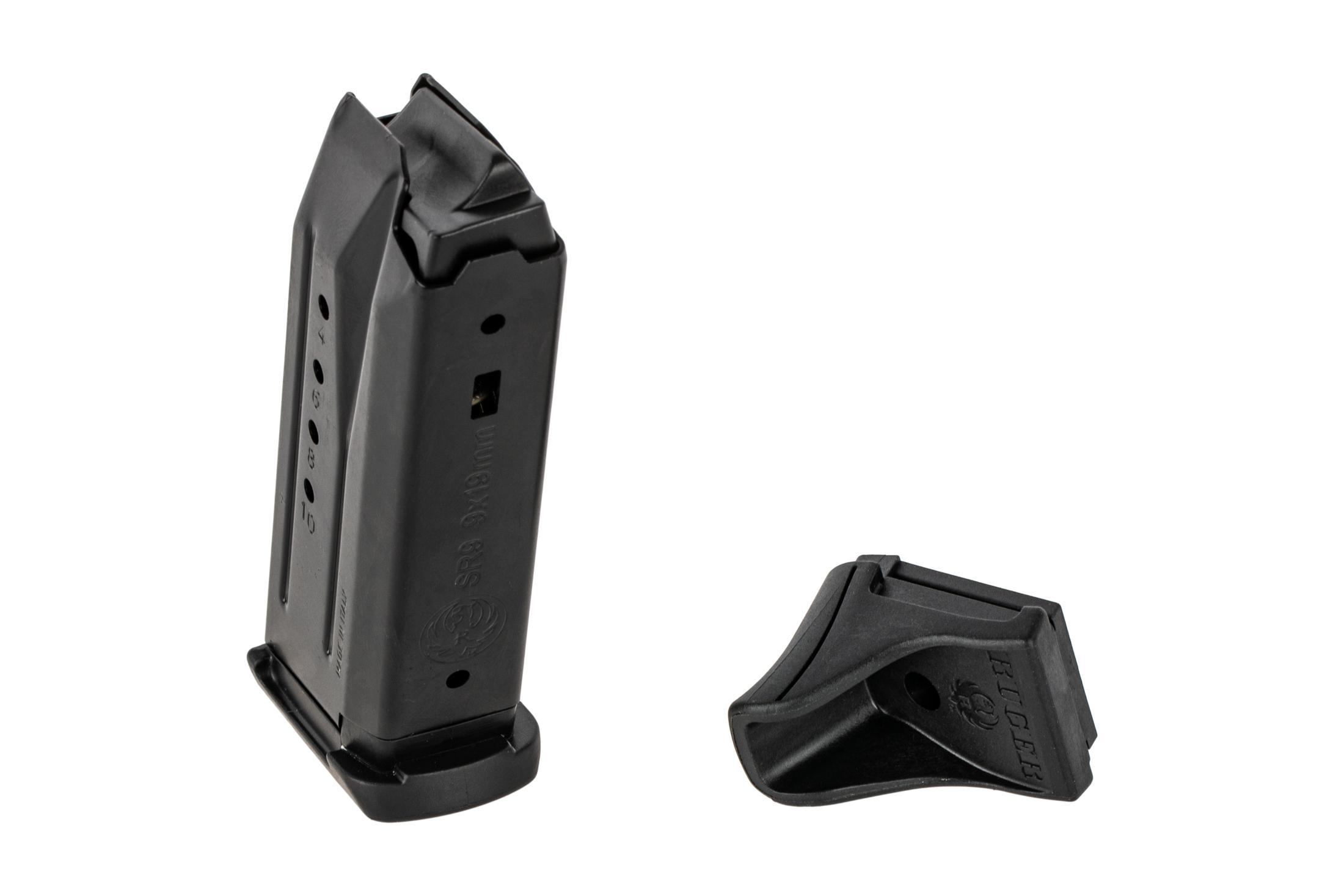 Ruger SR9C Magazine 9mm - 10 Round Grip Extension