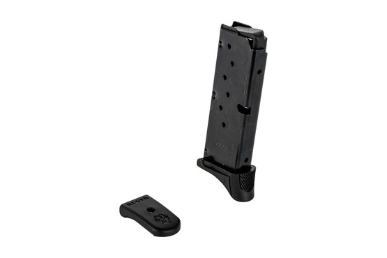 The Ruger LC380 magazine holds 7 rounds of .380 ACP ammunition
