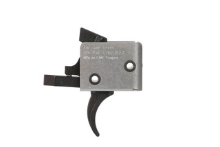 CMC Triggers Single Stage 2.5lb Match Grade 3-Gun Competition Trigger with Curved Bow for ar10