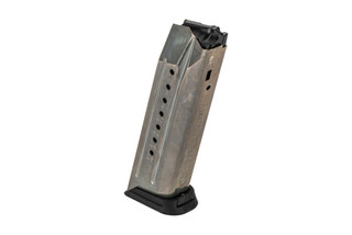The Ruger American 17 round magazine is also compatible with the pistol carbine