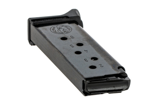 The Ruger LCP II 380 ACP magazine 6 round features stainless steel construction and side witness holes