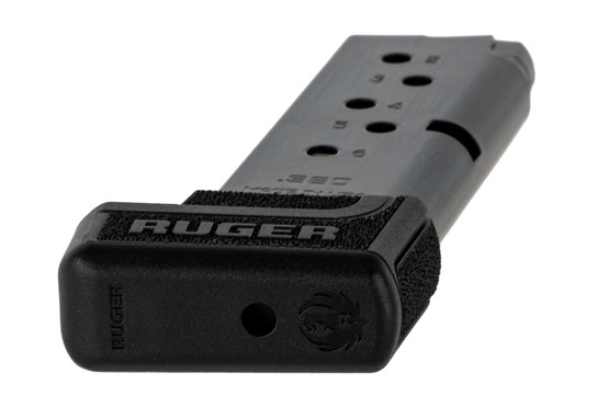 The Ruger LCP II Magazine holds 7 rounds of .380 ACP ammunition