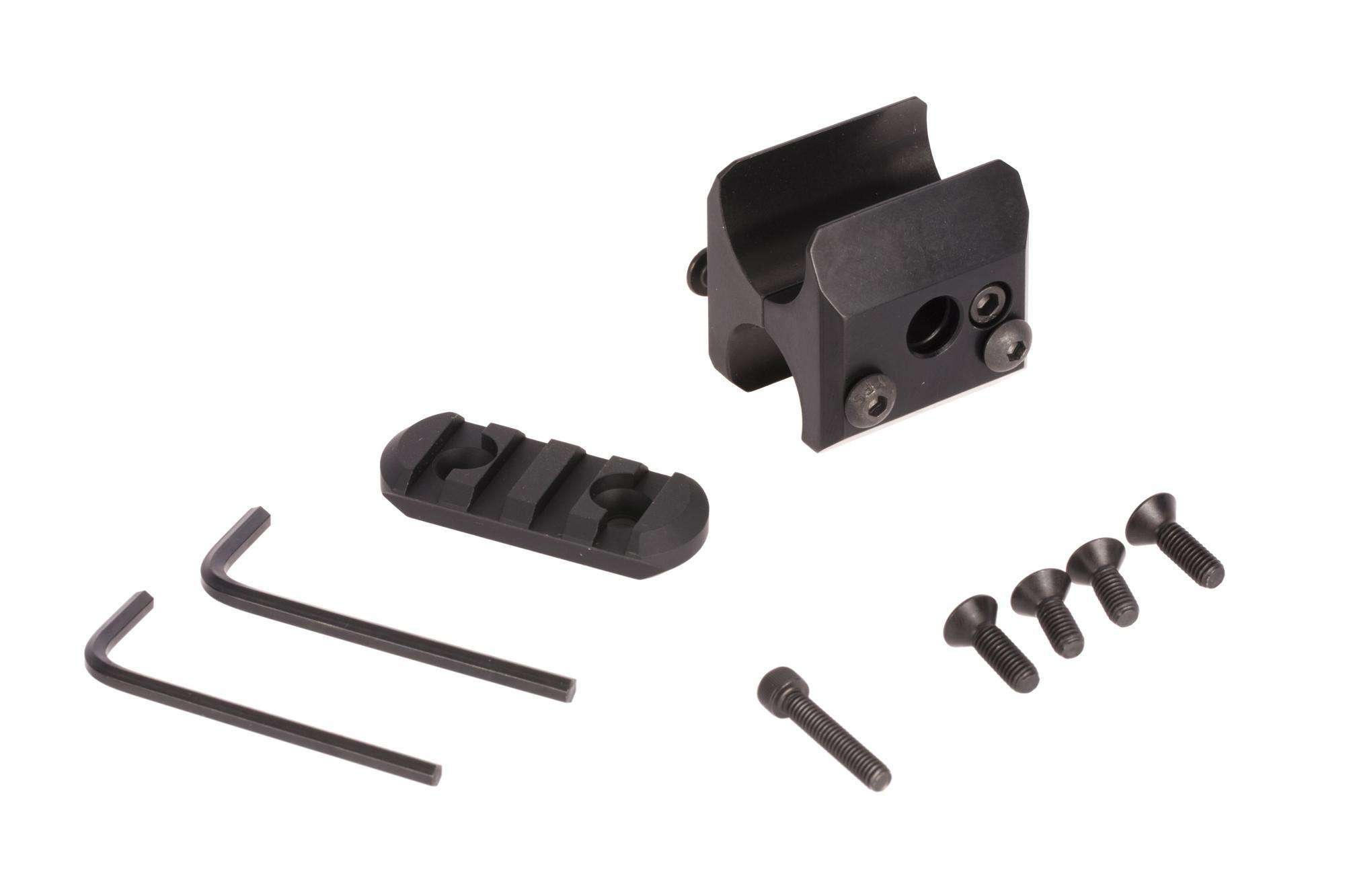 Mesa Tactical Magazine Clamp with Rail - Remington 870/Mossberg 930 - 12 ga