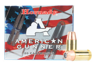 Hornady .45 ACP ammo is loaded with a 185 grain XTP hollow point bullet