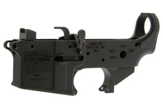 The CMMG AR9 dedicated 9mm lower receiver is for use with Colt pattern magazines