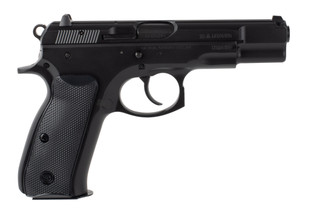 CZ 75 B 9mm Pistol features a hammer fired design