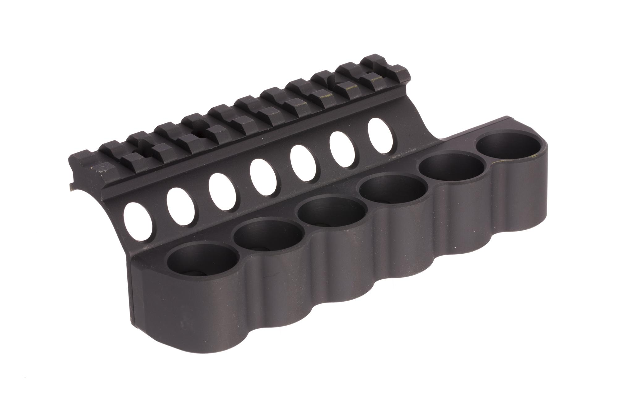 Mesa Tactical SureShell Carrier and Rail - Benelli M2 - 6-Shell - 12 ga