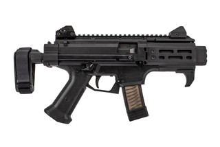 CZ Scorpion EVO 3 S2 Micro pistol is chambered in 9mm with a blow back system