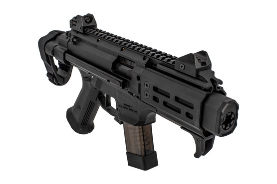 CZ Scorpion S2 Micro Pistol features a fake suppressor muzzle device