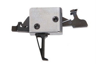 The CMC ar15 ar10 Drop-In Two Stage 1lb Set 3lb Release Flat Trigger fits in Mil-Spec lower receivers with .154in pins