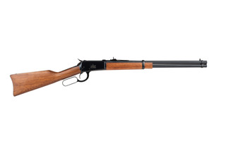 Rossi 92 44 magnum lever action rifle features a 20 inch barrel