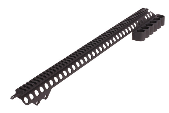 Mesa Tactical SureShell Carrier, Rail and Magazine Clamp - Remington 870 -  6-Shell - 12 ga