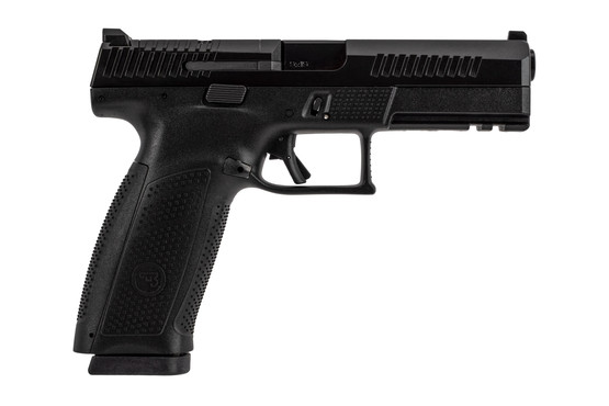 CZ P10 Optic Ready Full Size Pistol holds 19 rounds of 9mm