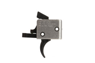 CMC Triggers AR-9 single stage 9mm AR-15 trigger with curved bow has an exceptionally easy drop-in installation
