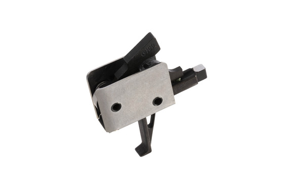 CMC Triggers self-contained single stage AR15 trigger with straight bow is a compact drop-in package for 9mm rifles