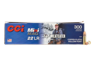 CCI 36gr .22 LR Mini Mags with Meat Eater hollow points