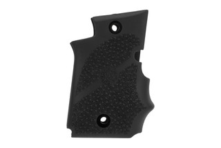 Hogue SIG P938 Rubber grips feature finger grooves