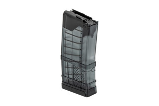 Lancer Systems L5AWM 20 round magazine features a translucent smoke color