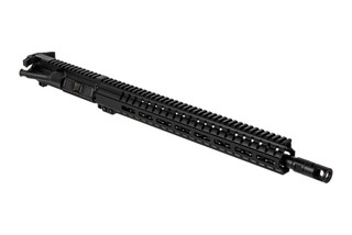 CMMG Resolute 300 Series 9mm complete ar15 upper receiver features an oversized ambidextrous charging handle