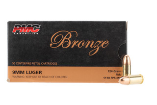 PMC Bronze 9mm Luger 124 gr FMJ
