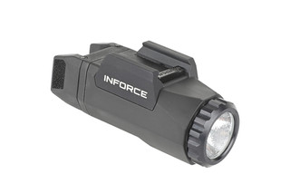 The Inforce APL gen 3 pistol light is made out of glass reinforced polymer and is extremely lightweight