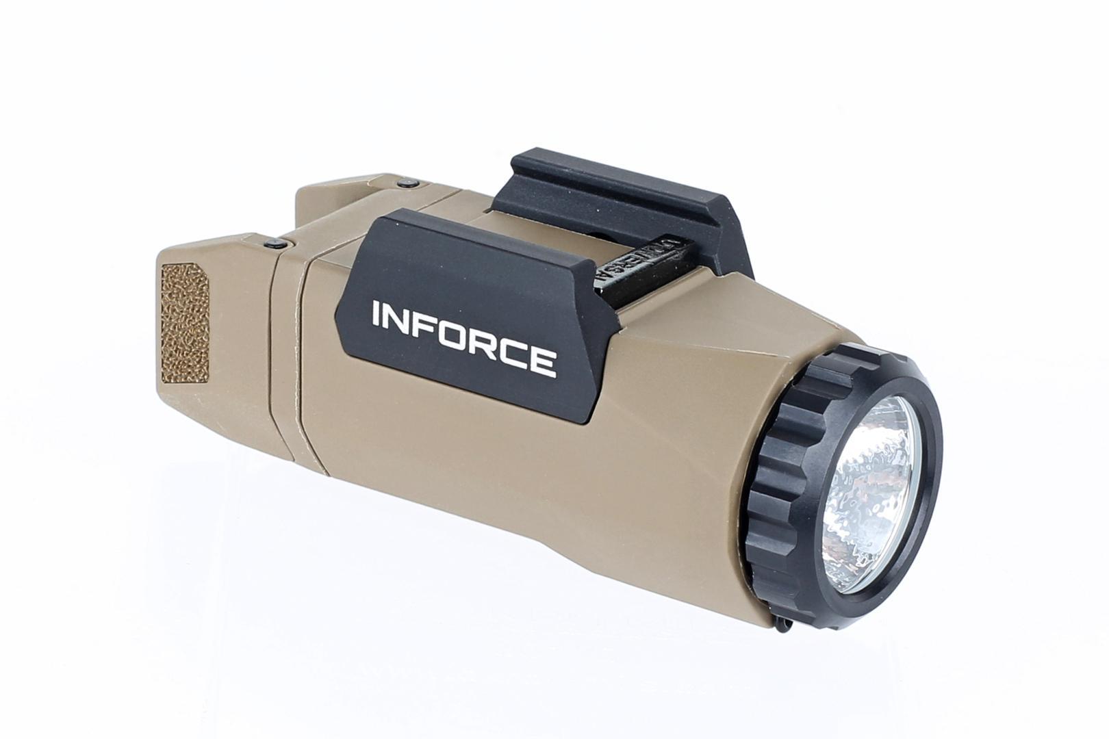 Inforce APL Gen 3 Auto Pistol Light - 400 Lumens - FDE