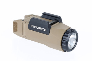 The Inforce APL Gen 3 features a compact polymer design with 400 lumens of bright LED light