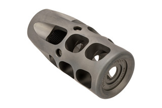 Precision Armament .338 Lapua Severe Duty M41 muzzle brake in 5/8x24 in stainless
