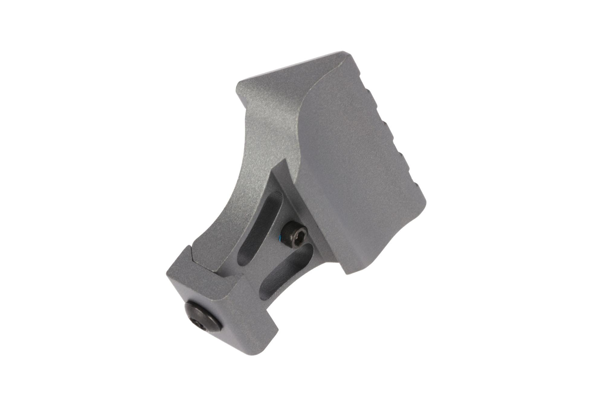 Warne Scope Mounts Picatinny Side Mount Adapter - 45-degree - Tactical Gray