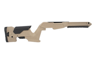 ProMag Archangel Precision stock for the Ruger 10/22 in desert tan is a tactical ergonomic, and durable upgrade