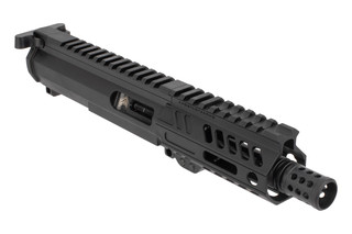 Angstadt Arms 9mm Complete Upper Receiver features a lightweight 4.5 inch barrel