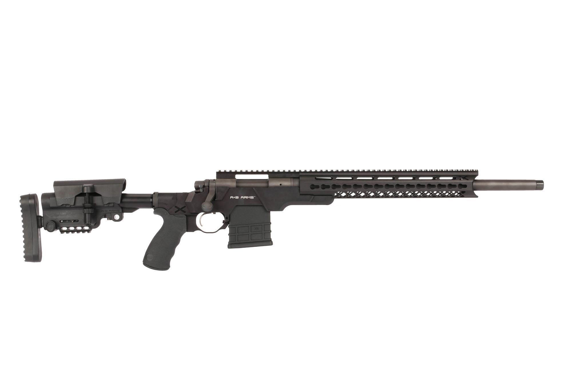 A*B Arms MOD*X Rifle -  308 Remington 700 SPS Tactical AAC-SD