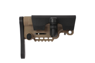 A*B Arms Urban Sniper Stock in FDE is a compact fixed stock for AR-15 carbines