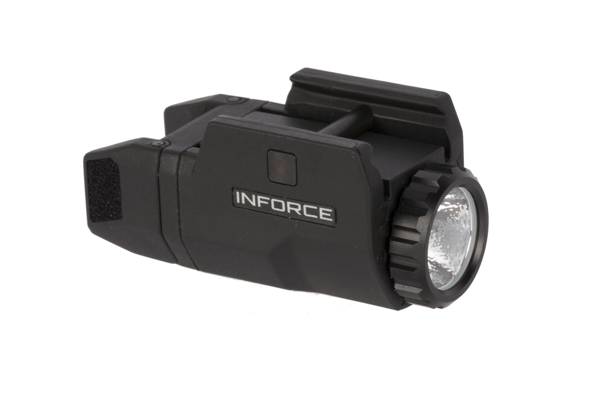 The Inforce APLc Compact 200 Lumen Pistol Light features the same compact design of the gen 3 in a smaller package