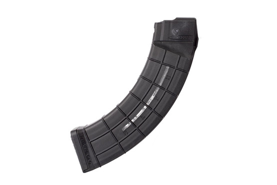 AC Unity coffin magazine holds 60-rounds of hard hitting 7.62x39mm in a lightweight polymer quad stack magazine