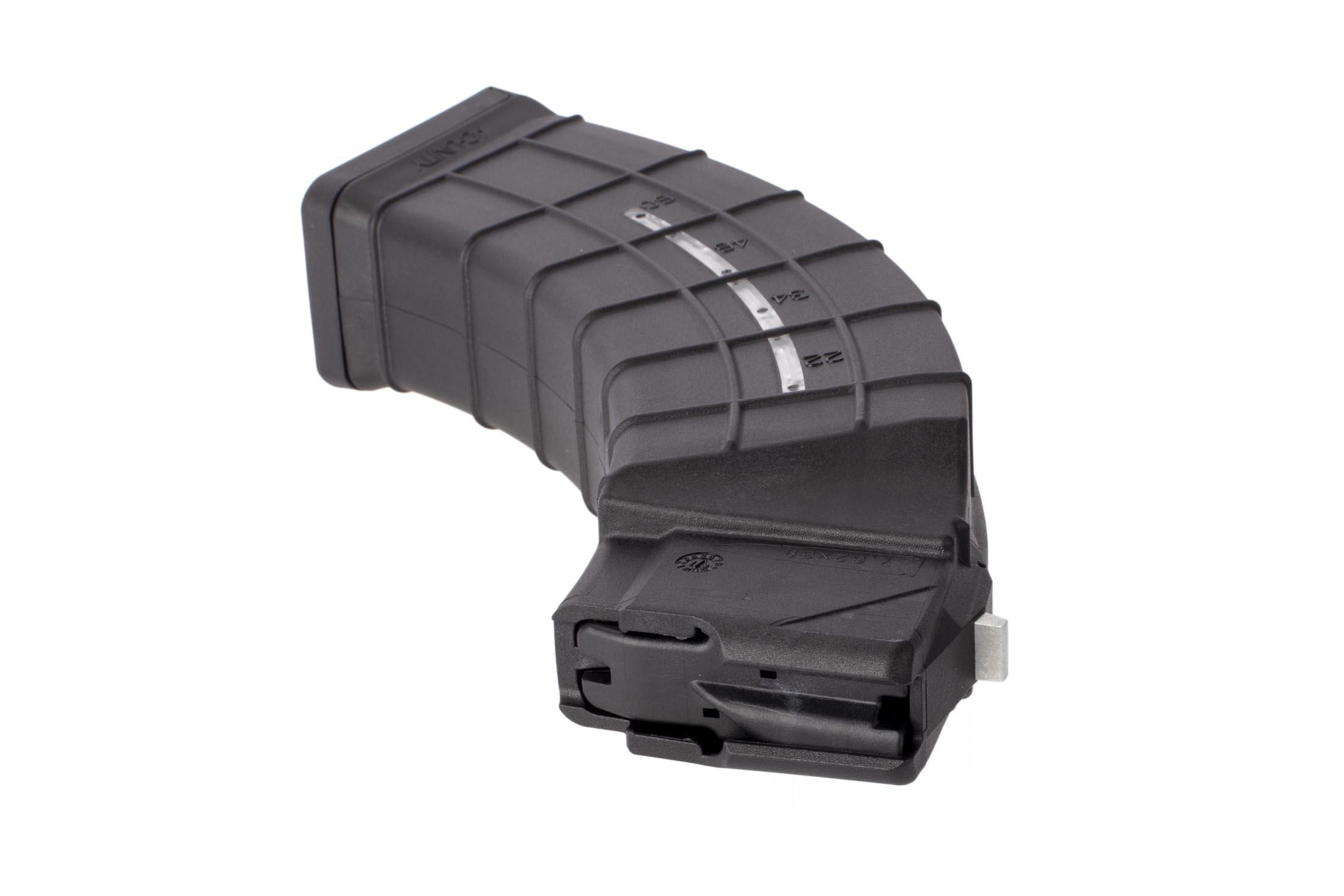 AC Unity quad-stack 60-round AK-47 magazine features reinforced locking tabs for secure fit in your rifle