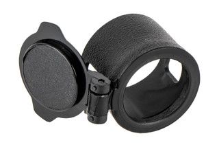 Trijicon eyepiece flip cap fits Trijicon 4x32 ACOGs with or without red dot mounting bosses.