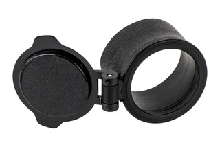 Trijicon's 4x32 ACOG objective flip cap stretch-fits to the TA91 killFLASH for the RCO ACOG.