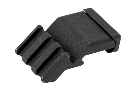 Trijicon's 45-degree rail offset adapter lets users mount RMR and SRO style optics for fast close quarters transitions.