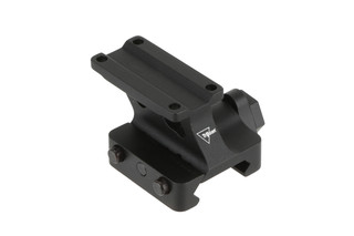 The Trijicon MRO absolute co witness mount features a quick detach system that locks up tight