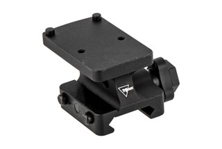 Trijicon RMR quick release full cowitness mount places RMR and SROs at absolute cowitness with traditional AR sights.